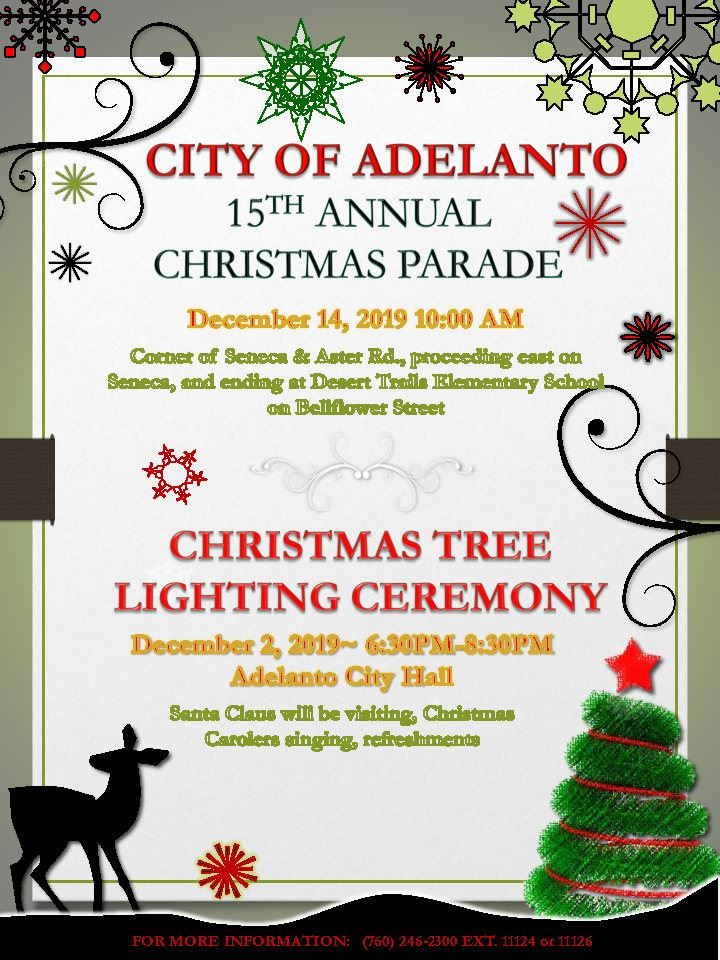 2019 City of Adelanto Christmas Parade e-Packet_Page1
