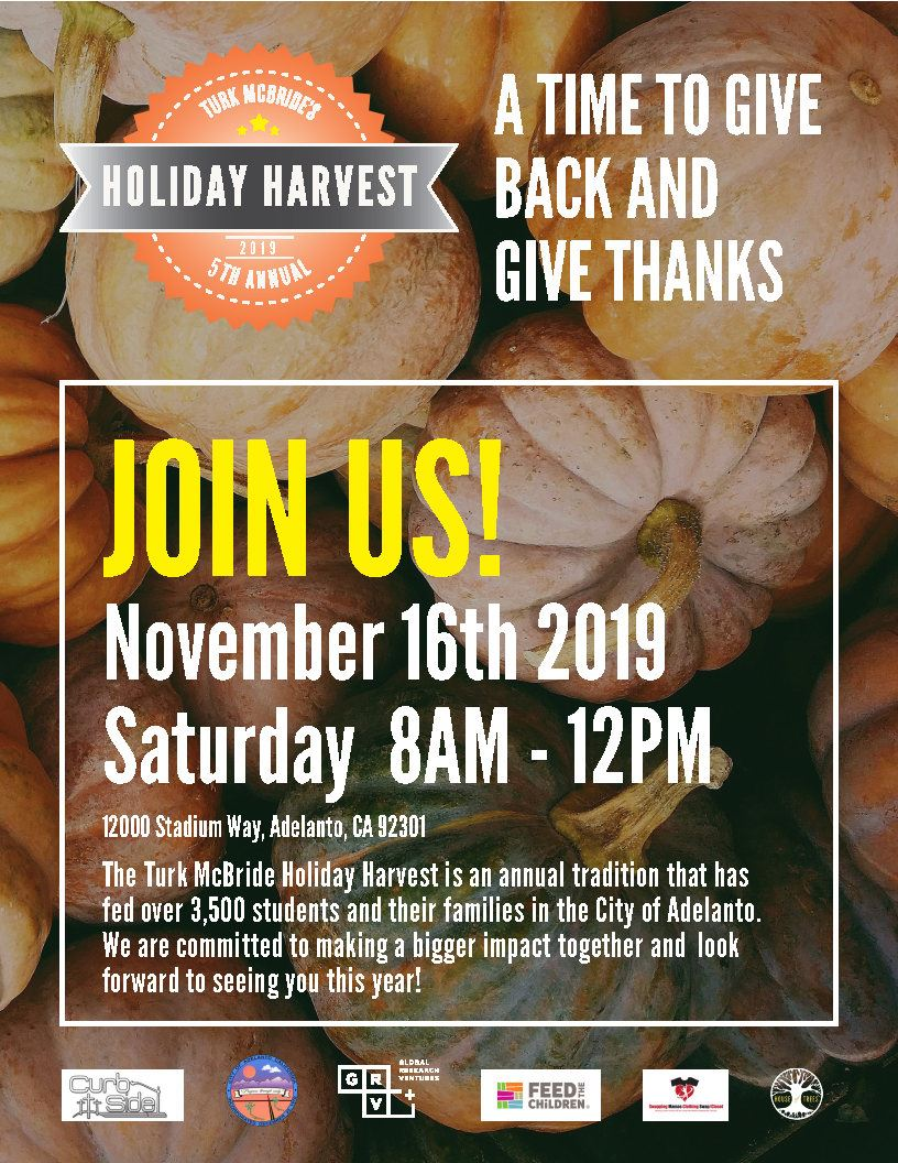 HOLIDAY HARVEST FLYER 2019