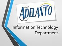 City of Adelanto Information Technology